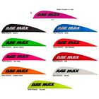 "100 AAE Max Stealth 2.7"" MIXED COLOR Vanes blue hot pink red orange black white"