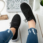 Womens Running Trainers Ladies Sneakers Slip On Jogging Gym Comfy Platform Shoes