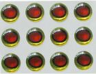 3D molded lure eyes #4