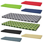Waterproof Garden Bench Patio Pad Seat Pads Chair Cushion Swing 2 Seater Outdoor