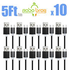10-PACK Samsung Galaxy S9 S10+ Note 8 9 USB-C Type C Charging Cord Cable Charger