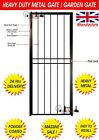 Heavy Duty Steel Security Grill Gate,Door,Metal Framed,Metal Gate with Lock
