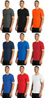 Nike Dri-FIT Mens T-Shirt Short Sleeve Gym Workout Athletic Cotton/Polyester Tee