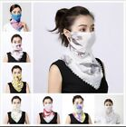 Kyпить Women's Face Chiffon Neck Scarf Protect Mouth  Washable Floral  на еВаy.соm
