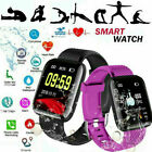 116 PLUS Smart Bracelet D13 Heart Rate Blood Pressure Waterproof Smart Watch Q18