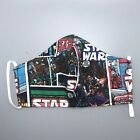 STAR WARS COMICS FABRIC FACE MASK WITH FILTER POCKET <<FREE SHIPPING>> * $16.98 USD on eBay
