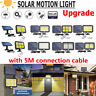 Solar LED Motion Sensor Wall Light Outdoor Waterproof Garden Yard Landscape Lamp