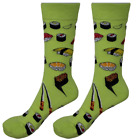 Womens Mens Crew Socks Sushi Sock Novelty Colourful Funny Crazy