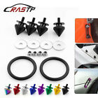 4pcs Car Spike Front Bumper Hatch Lids Quick Release Fasteners Nuts Bolt Kit