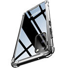 Protective Clear Phone Case And Screen protector for Samsung's Smartphone