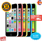 Apple iPhone 5C 8GB 16GB VARIOUS COLOURS, GRADE A+++UNLOCKED+1 YEAR WARRANTY