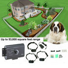 Underground Electric Dog Fence System Waterproof Shock Collars Safety For Dogs