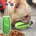 Dog Treat Food Chew Toys Puppy Bulldog Toothbrush Rubber Leakage Food Dispenser