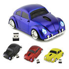 2.4Ghz Wireless USB Volkswagen VW Beetle car mouse Bug PC/Laptop Mice LED Gift