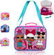 Kids Girls Friendly Diva Dolls Strong Double Layer Insulated Cooler Lunch Bag wi photo
