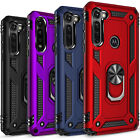 For Motorola Moto G Stylus Case, Ring Kickstand Cover  Tempered Glass Protector