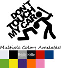 Don't Touch My Car Sticker JDM Euro Honda Funny drift lowered vw window decal