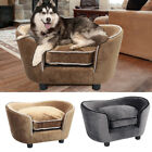 Large Gold Ingot Velvet Pet Bed Cat Dog Sofa Couch Chair Soft Cushion Basket Bed