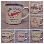 Red Wing Coffee Mug Cup Morey's Fish Seafood Advertise Promo buy 1 or more image