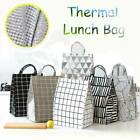 Portable Insulated Thermal Cooler Bento Lunch Box Tote Storage Picnic Pouch Bag