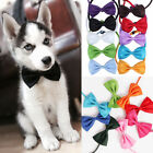 2pcs Pet Dog Cat Adjustable Bow Tie Strap For Cat Collar Dogs Fly Pup