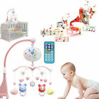 Toddler Baby Mobile Crib Windup Movement Music Box Machine Toy Stroller Bed Bell