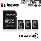 Kingston Micro Sd Card 32gb 64gb 128gb Tf Class 10 For Smartphones Tablets