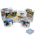Hot Wheels Card Protectors for Cars Short Long Character 0.5mm PET Display Case