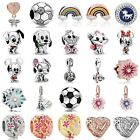 European Charms Silver Beads Pendant Fit 925 Bracelets Christmas Gift New Design
