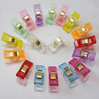 20 Pcs Plastic Clips Clamps Sewing Clips Clamps Holder Fabric Cloth Patchwork