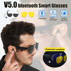 2 IN 1 Smart Glasses TAC Polarized Lenses V5.0 EDR Bluetooth Earphones