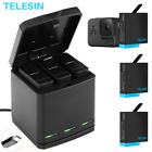 Kyпить TELESIN Battery Charger Case For GoPro Hero 8 7 6 5 Black Charging& Storage Box на еВаy.соm