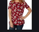 NEW RRP £40 Ex  Fat face Alessia floral ditsy longline top                (B189)