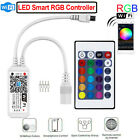 Smart Wifi Controller Led Rgb Strip Lights Music 24 Key For Alexa Google Home