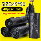 45*50 Heavy Duty Garbage Bag Disposable Refuse Sacks Bin Liners Rubbish Bags NEW