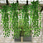 2m Artificial Leaf Ivy Vine Plant Fake Foliage Green Leaves Home Garden Decor