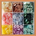 10 or 25 - FISHEYE Baby Round Resin Sewing Buttons - 4 Sizes - 22 Colours