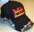Minneapolis Moline Logo Barbed Wire Embroidered Solid Hat (2 types)