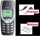Original Nokia 3310 MOBILE PHONE BOXED WARRANTY FIRST CLASS UK STOCK