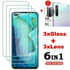 Tempered Glass Full Screen Protector + Camera Lens Glass For Oneplus Nord-3pcs