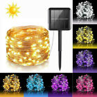 20M 200 LED Solar Powered Fairy Garden Lights String Outdoor Party Wedding Xmas