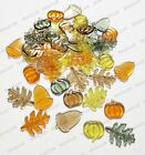 144 Fall Autumn Table Scatter Pumpkin Acorn Maple Leaf Leaves Thanksgiving Decor