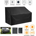 Outdoor Waterproof Garden Furniture Cover High Back Bench Couch Sofa Cover Us