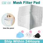 5-100pcs Filters For Mask Insert Replaceable Adult Anti Haze Mouth Pads
