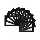 Image Photo Supports Cadres Supports - Divers Tailles - A3 A4 Noir