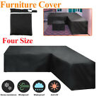 Waterproof Garden Rattan Corner Furniture Cover Outdoor Sofa Protect L Shape Us