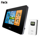 LCD Alarm Clock Indoor Outdoor Weather Forecast Digital USB Weather Station P1X7