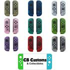 Custom Clear Transparent Joycon Housing Shells for Nintendo Switch *US SELLER!!*