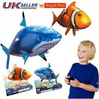 Remote Toys Control Flying Shark Fish RC Radio Air Swimmer Inflatable Blimp Gift