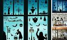 78 pcs Halloween Decorations Window Clings Bat Stickers Wall Decals Goth Decor I